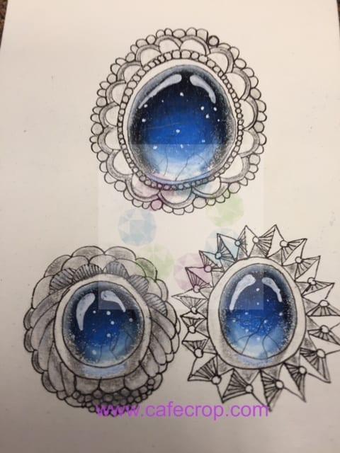 How to Draw: Gemstones