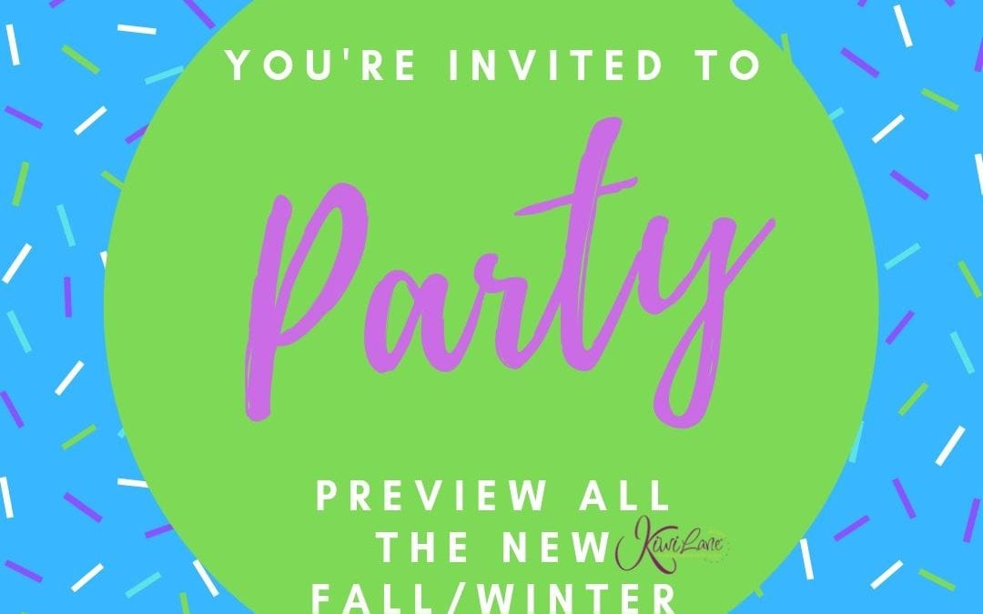 Kiwi Lane Preview Party – All the NEW Fall Releases