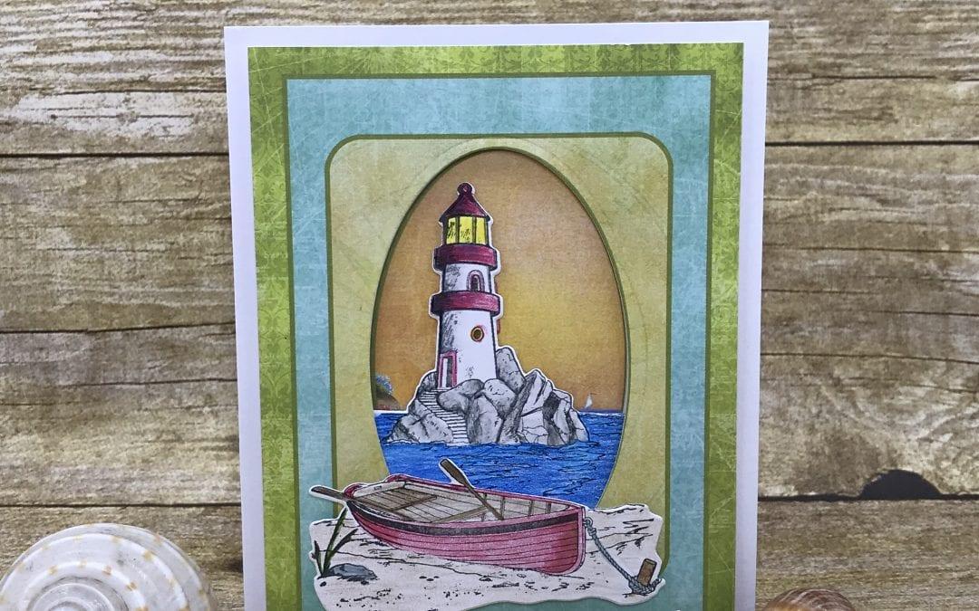 Sea & Sailing: Guy Cards, Sympathy, Thinking of you!