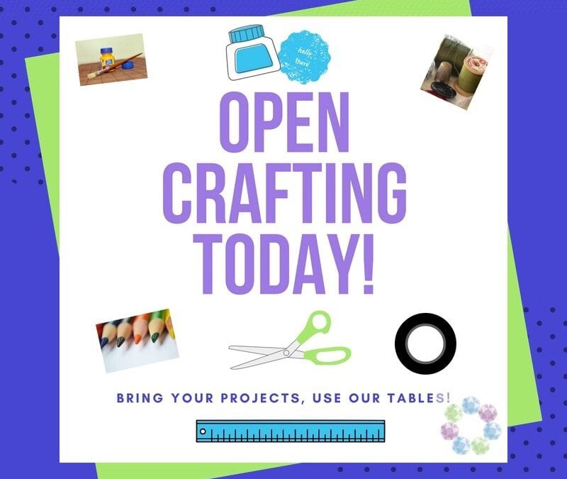 Open Crafting Today!