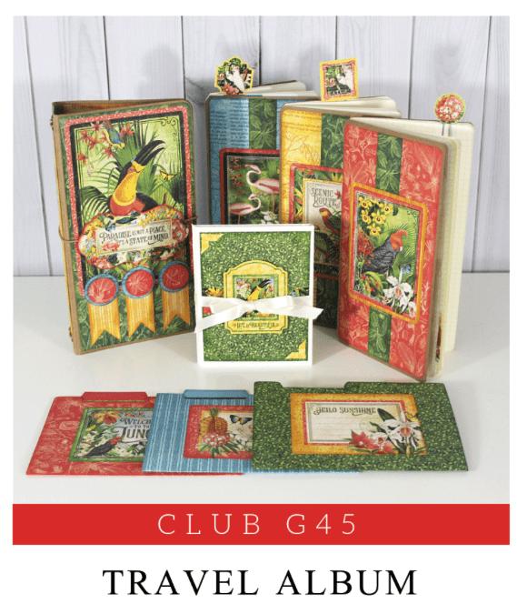 Life in Paradise Travel Album & Notebook Set
