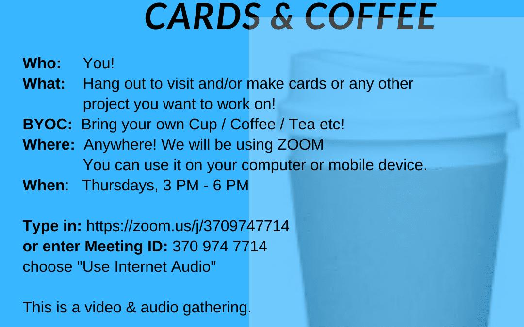 VIRTUAL Cards & Coffee