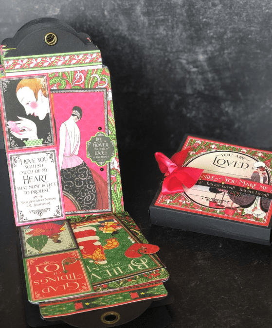 Calendar Tag Album & Treat Box