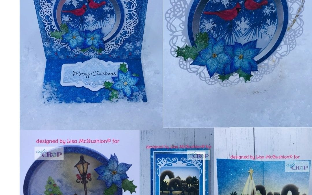 Festive Winterscapes Card Class